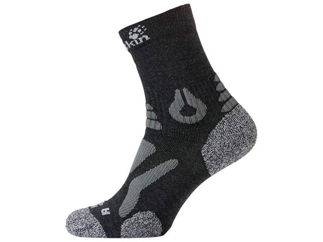 Jack Wolfskin Hiking Pro Chaussettes coupe classique, dark grey